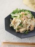 しっとりゆで鶏とれんこんのゆずサラダ