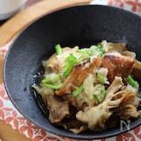 ブリと舞茸の揚げおろし煮
