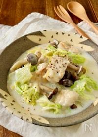 『簡単*鶏むね肉と白菜の中華クリーム煮』