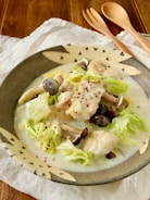 簡単*鶏むね肉と白菜の中華クリーム煮
