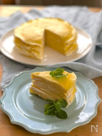 ケーキ ミックス で クレープ ホット