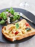 いつもの朝食に飽きたら♪イタリアンオムレツのオープンサンド