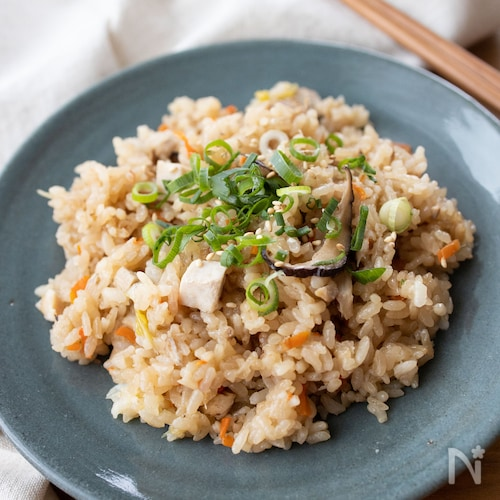 『もっちり。中華おこわ』#煮豚#炊飯器#子供も喜ぶ#簡単