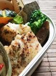 鶏胸肉のマヨワインハーブ漬けソテー