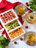 フルーツたっぷり!引き出しケーキ