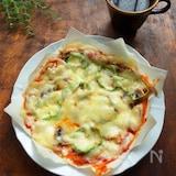 フライパンで簡単☆春巻きの皮の本格ピザ