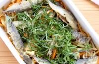 豆鯵の生姜南蛮漬け〜唐辛子の代わりにマイルドな生姜を使って〜