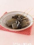 赤味噌の味噌田楽(こんにゃく)