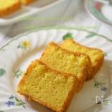 この食感がたまらない♡米粉とホワイトチョコのパウンドケーキ☆