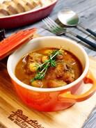 サバ缶とひよこ豆のトマトカレー