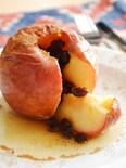 丸ごと焼きリンゴ。ジューシー!オーブンで焼くだけ簡単スイーツ