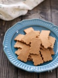 材料3つ!ノンオイルきな粉クッキー【バター卵小麦粉不使用】