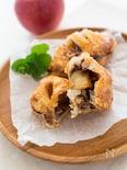 『チョコカスタードのアップルパイ』#おやつ#冷凍パイシート