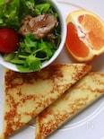 ハムチーズのフレンチトースト(モンティクリスト)