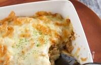 里芋の肉味噌グラタン