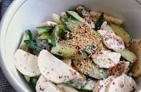 きゅうりと長芋のゆかりおかかマヨサラダ