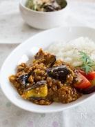 茄子とひき肉の和風キーマカレー