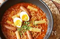 『インスタント乾麺で⭐︎』本格♡甘辛ラッポッキ