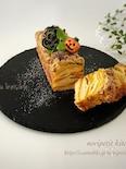 簡単♡かぼちゃ&りんごのガトーインビジブル