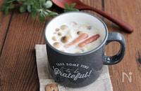 包丁いらずでレンチンするだけ!具だくさんなマグカップスープで朝ごはんを。