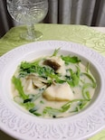 タラが苦手な人へ♡タラが美味しいスープ1人分110kcal