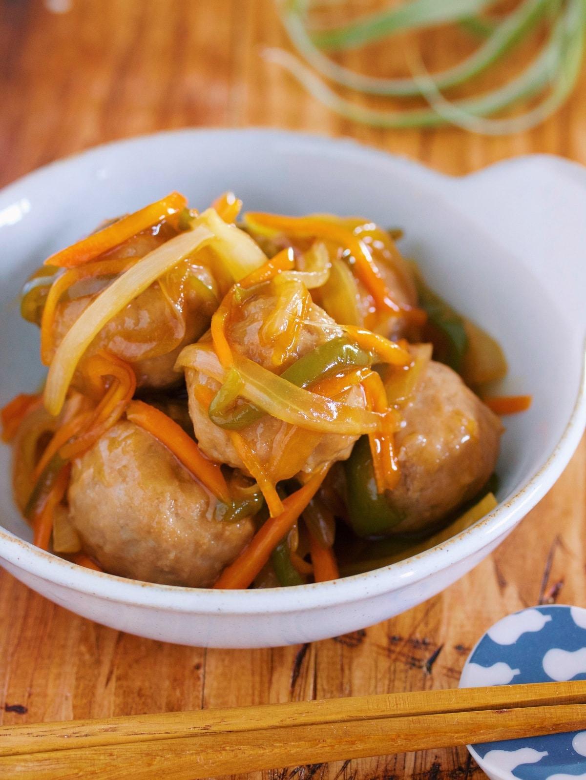 団子 冷凍 レシピ 肉