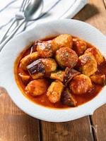 鶏ひきでもふんわり柔らか『チキンミートボールのトマトソース』