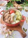 鶏手羽元とキャベツのスープ