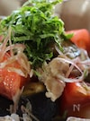 豚肉と夏野菜のめんつゆ炒め