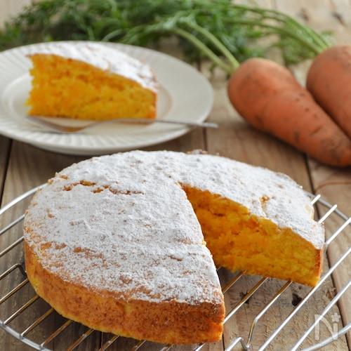 にんじんケーキ。やさしい甘みの野菜スイーツ!