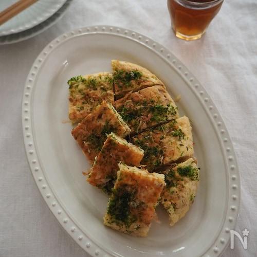 長芋と納豆のふわふわお焼き