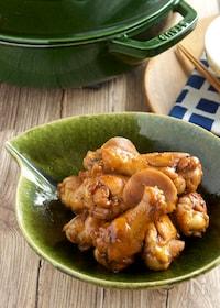 『鶏手羽元のさっぱり生姜煮』