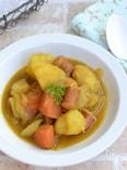 ごろごろ野菜のはちみつカレー煮込み【作り置き】