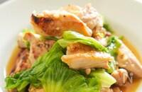 【材料ふたつ】鶏とレタスの旨塩炒め