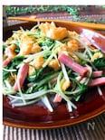 ☆ふわふわ卵と水菜とベーコンの中華炒め