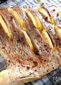 『鯛のレモングリル《シンプルが美味しい》』
