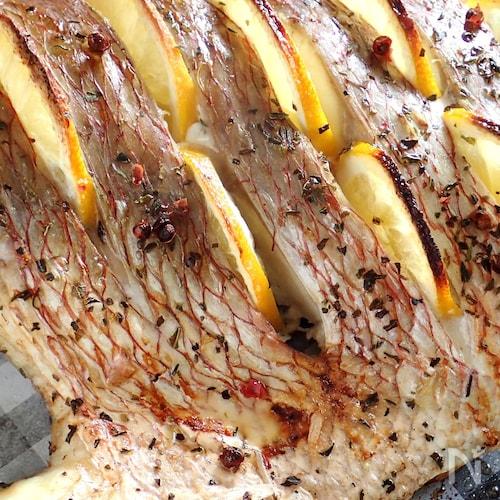 鯛のレモングリル《シンプルが美味しい》