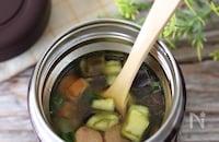 コロコロ野菜のヘルシーカレースープ