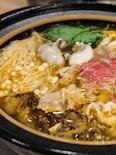 【台湾石頭火鍋・ごま油炒め鍋の作り方】つけたれは沙茶醤!