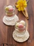 ひな祭りにも。3色フルーツ白玉♪