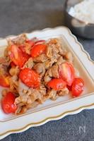 豚肉とトマトの甘酢炒め