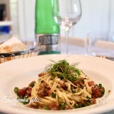 マグロとしその実漬の冷製パスタ♡イタリア発の和風イタリアン