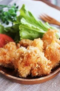 鶏胸肉のやわらか味噌マヨチキンカツ