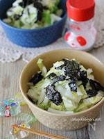 のり塩白菜