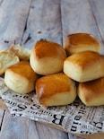 パヴェ〜ミルクパン【発酵なし・レンジ・ホットケーキミックス】