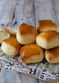 『パヴェ〜ミルクパン【発酵なし・レンジ・ホットケーキミックス】』