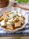 レンジで簡単!無水♡『白菜と厚揚げとツナの旨煮』しっかり味♪