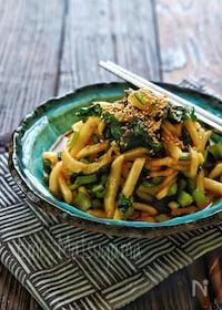 『ポリ袋で簡単!*大根と小松菜の即席ピリ辛韓国漬け*』