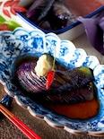 【食材ひとつの作り置き】秋茄子で揚げない揚げなすの南蛮漬け