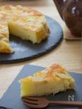 りんごとヨーグルトのアップサイドダウンケーキ